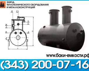 Емкость подземная ЕП 63-3000-1000-2