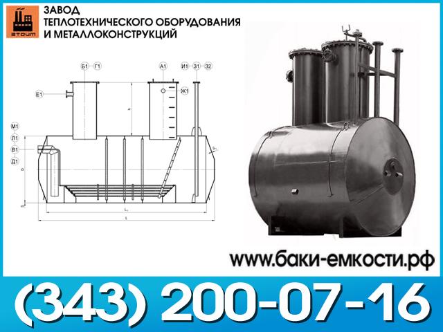 Емкость подземная ЕПП 16-2000-1300-1